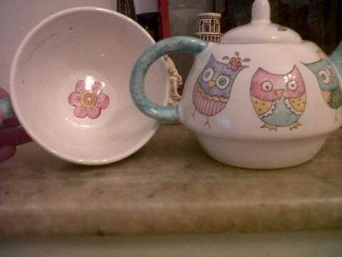 Tea for one ...Buhos