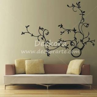 Deckora vinilos decorativos decoracion de interiores for Pegatinas murales pared