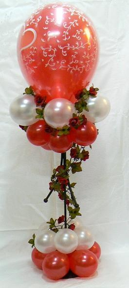 valentines balloons by Peter Van The Party Man, via Flickr