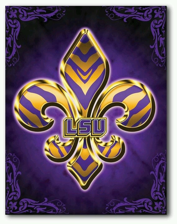 #Lsu @Lorena Sutter. Yokem Toyota. http://yokemtoyota.com........this would be wick on a canvas....hmm, maybe next project - who thinks so?