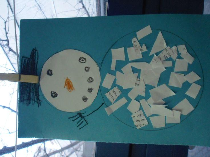 1000 bilder zu mutter kind auf pinterest bastelarbeiten for Winter basteln im kindergarten