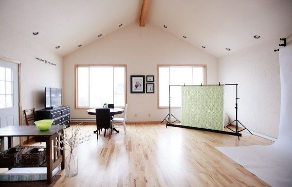 Photography Studio in my next home.