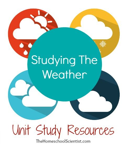 109 best homeschool weather science images on pinterest studying the weather unit study resources the homeschool scientist sciox Choice Image