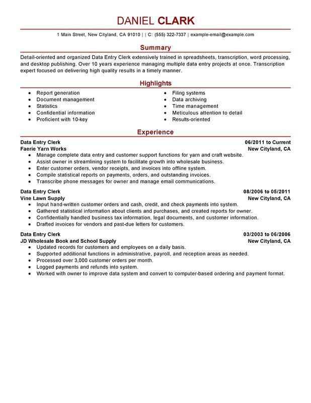 Pin On Resume Examples Office