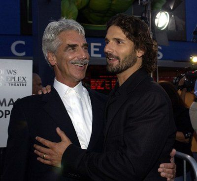 Sam Elliott and Eric Bana at event of Hulk