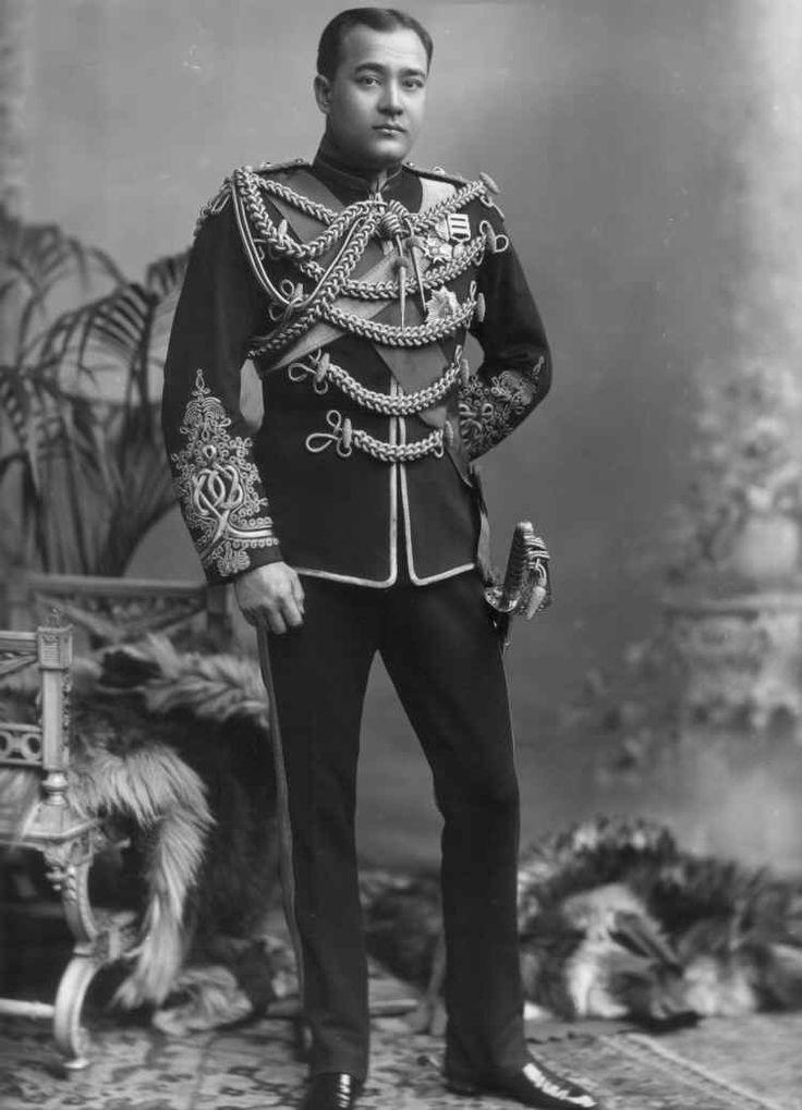 Shri Sir Nripendra Narayan, Maharaja de Cooch Behar en 1902