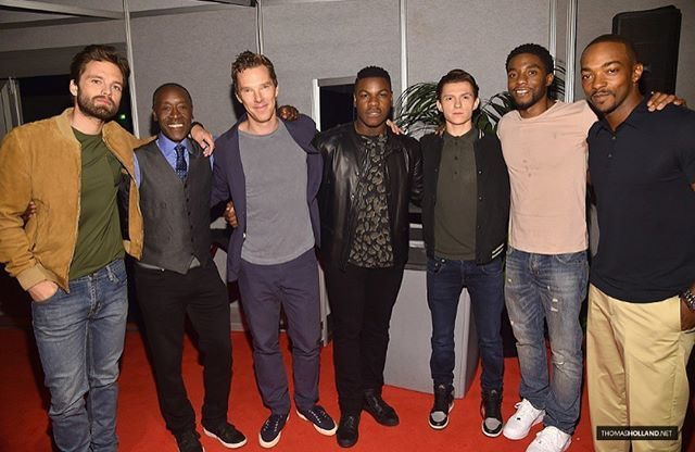 TSH + Sebastian Stan, Don Cheadle, Benedict Cumberbatch, John Boyega, Chadwick Boseman + Anthony Mackie