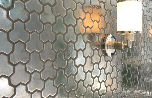 3d ceramic wall tile geometric pattern mor daniel for 3d concrete tiles
