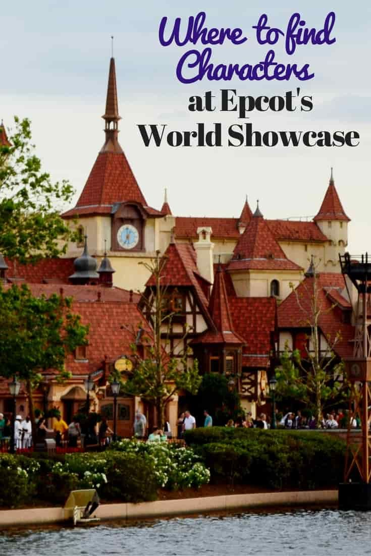Here are some helpful hints as to where you can find the Disney Characters at Epcot's World Showcase. via @disneyinsider