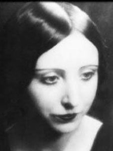 """She is very startling, pixie-like, otherworldly…One feels if one were to touch her, she would crumble into silver dust."" Susan Sontag about Anaïs Nin, from Reborn: Journals & Notebooks"