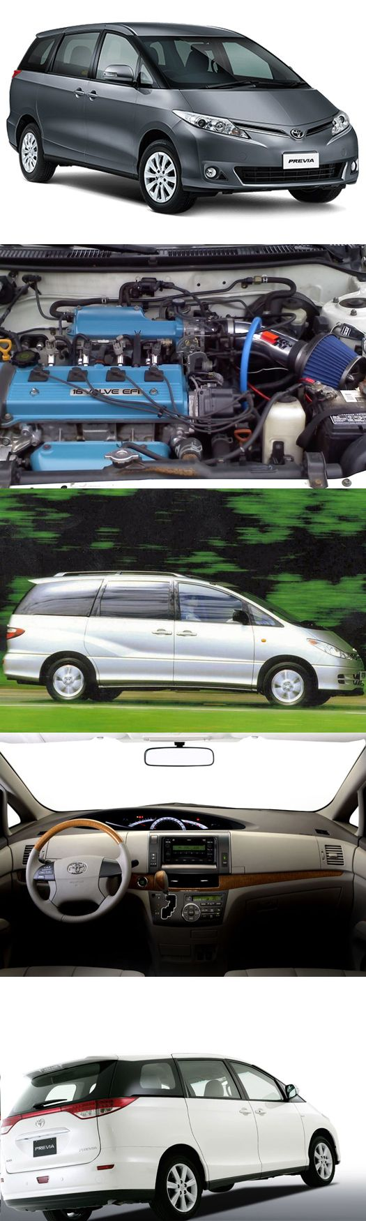 #Toyota #Previa a name of Perfection read more: http://www.engines4sale.co.uk/blog/toyota-previa-a-name-of-perfection/