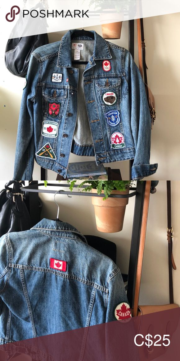 HBC Canada Olympics Jean Jacket Jackets, Jean jacket