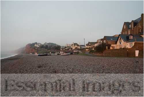 Budleigh Salterton - one of my favourite places - can't wait to go back!