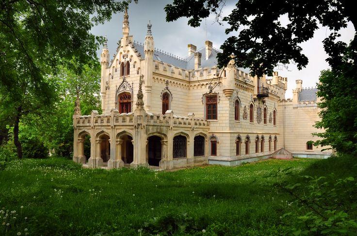 Miclauseni Castle, Romania #romania #castle
