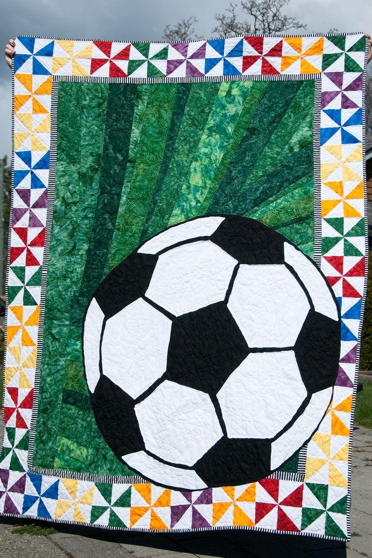 41 best Soccer Quilts - Ideas images on Pinterest | DIY, Crafting ... : baseball quilt fabric - Adamdwight.com