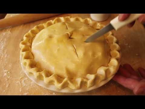 How to make Pie Crust  This chef chills everything and what a difference it makes. I always use chilled ice water but never thought to chill the butter (or crisco if you're so inclined!)