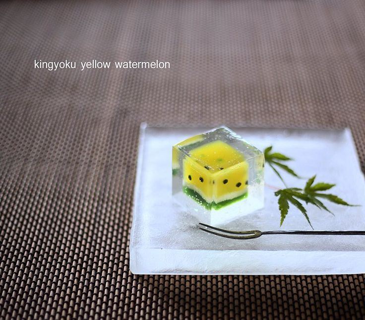 2,063 mentions J'aime, 94 commentaires – Kyoko(京子) (@mikeranalove) sur Instagram : « today, I made japanese sweets kingyoku which express yellow watermelon… »