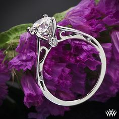 Verragio Cathedral Solitaire Engagement Ring with a 1.173ct A CUT ABOVE