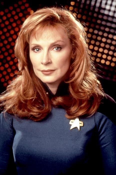 "Gates McFadden, ""Star Trek: The Next Generation"" - (b 03/02/1949 Cuyahoga Falls, Ohio) actress, director"