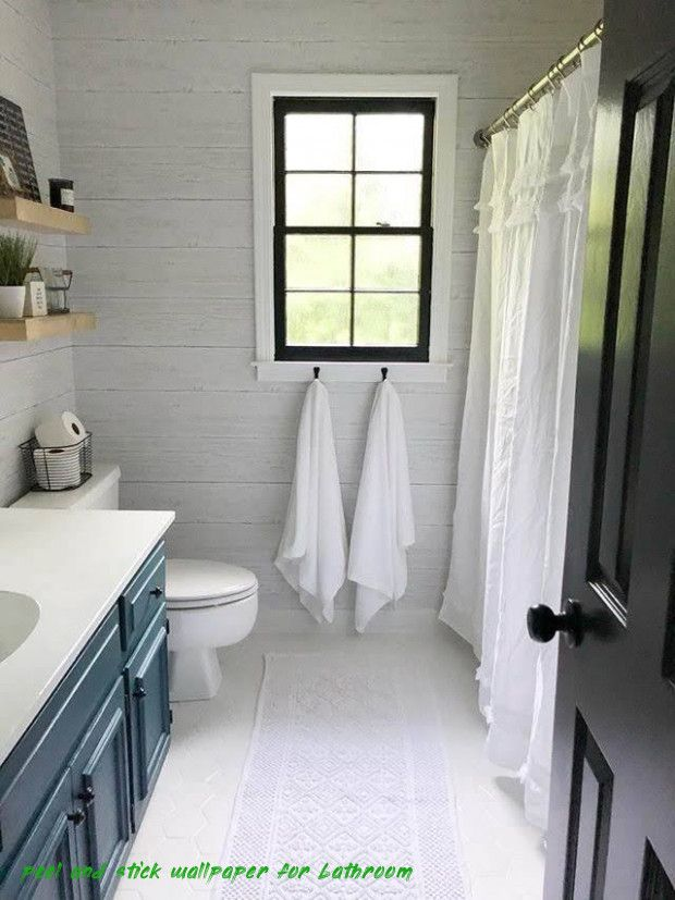 Ten Lessons Ive Learned From Peel And Stick Wallpaper For Bathroom Peel And Stick Wallpaper For B Bathrooms Remodel Modern Farmhouse Bathroom Guest Bathrooms