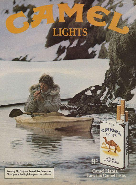 1984 Camel Lights Cigarettes Ad Vintage Cigarette by AdVintageCom