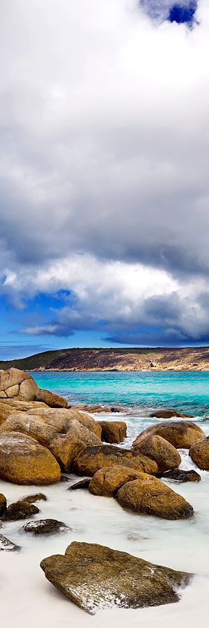 Beach at Hellfire Bay, Western Australia, in the Cape Le Grand National Park