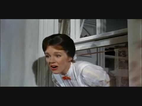 Mary Poppins - A Spoon Full of Sugar - One of my favorite songs of all time. I will never get tired of this. And's it prevents me from getting depressed from doing homework, non?