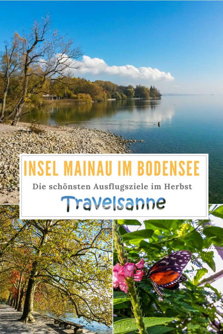 Insel Mainau Im Bodensee Entdeckt Eines Der Schonsten Ausflugsziele Deutschlands Im Herbst Familien Reiseblog Travelsanne Ausflug Ausflugsziele Reiseziele