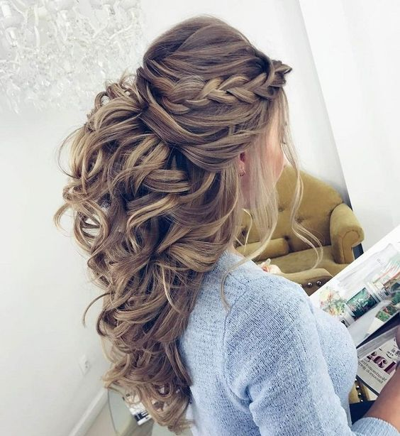 up down hairstyles
