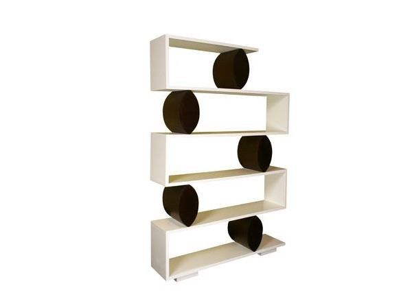 Open freestanding double-sided bookcase RODEO BOY - SISKÔ DESIGN