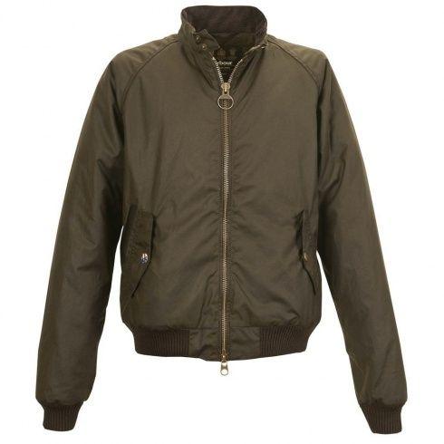 Barbour Steve McQueen | Merchant Olive Wax Jacket.
