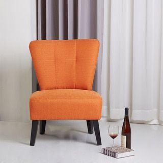 Shop for Sitswell Maddie Orange Modern Contemporary Accent Chair. Get free delivery at Overstock.com - Your Online Furniture Store! Get 5% in rewards with Club O!