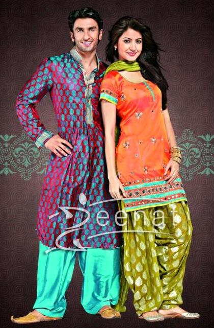 Indian fashion from my favorite Indian movie - Band Baaja Baaraat