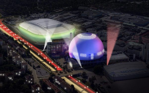 Stockholm's Globe Arena  Follow live: Heads of Delegation meet in Stockholm Delegates of all 43 countries participating in the 2016 Eurovision Song Contest gather  #eurovision2016