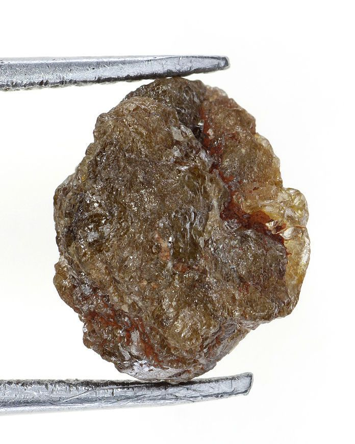 Genuine Natural Diamond Rare Raw Rough Loose Diamond 2.39 Ct Reddish Color
