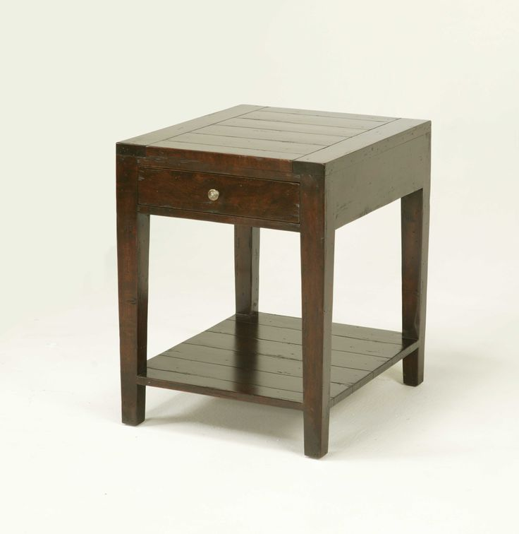 (Option To Hold Tv Components Next To Fireplace.) 2804 RECTANGULAR SIDE  TABLE WITH