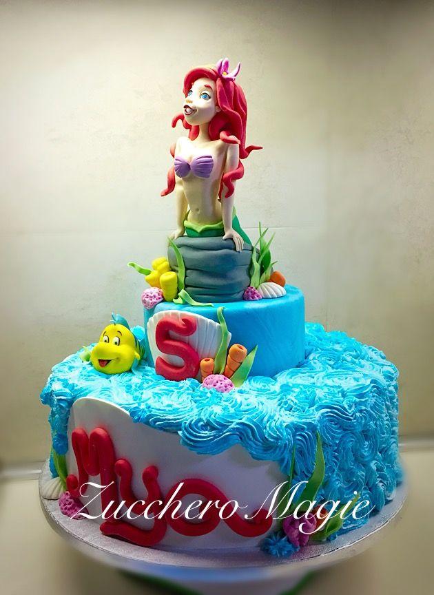 Ariel cake... princess Disney