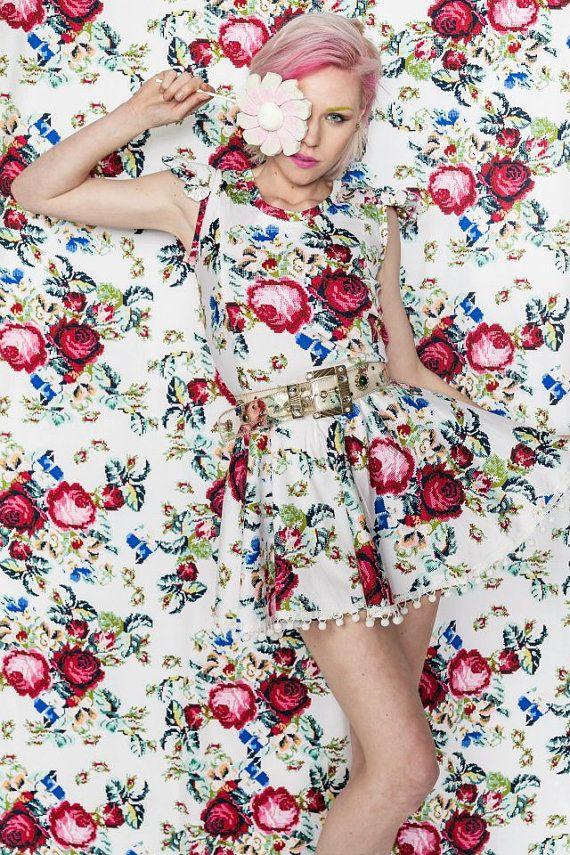 Tetris Pom Pom Dress | GWENADUE