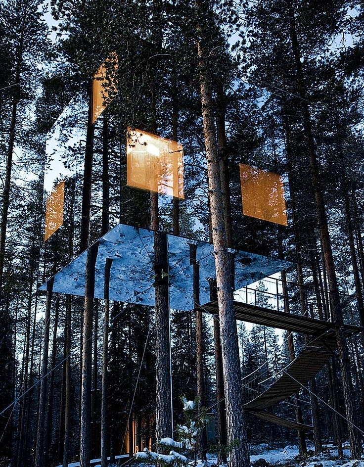 Treehotelin Harads, Sweden