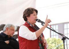 Perredistas anunciarán respaldo a la precandidata de Morena en un acto masivo