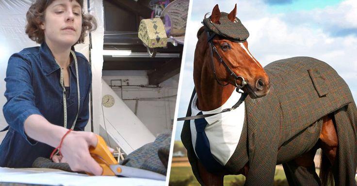 Te presentamos a Morestead, el primer caballo para el que fue confeccionado un traje de tweed en Inglaterra. Te lo advertimos: ¡Luce adorable!