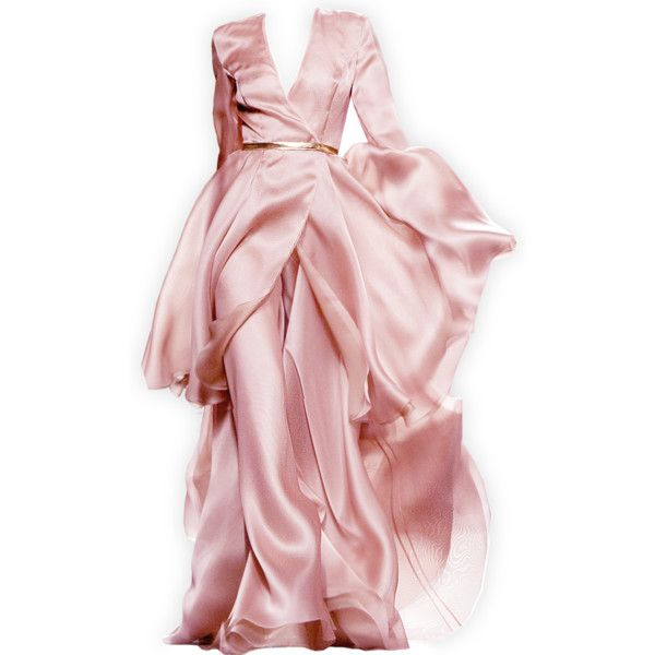edited by Satinee - Juan Duyos ❤ liked on Polyvore featuring dresses, gowns, long dresses, satinee, pink ball gown, long pink dress, pink evening dress and pink gown