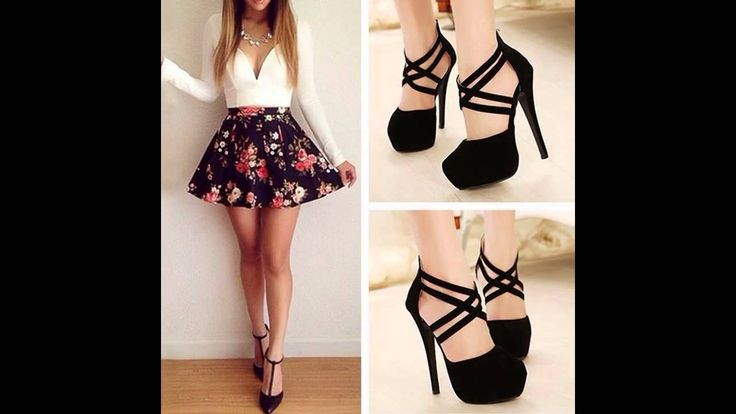Outfits con faldas floreadas