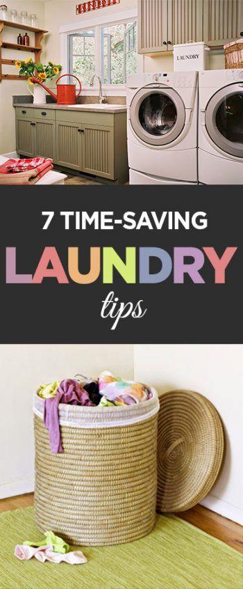 7 Time-Saving Laundry Tips - Organization Junkie