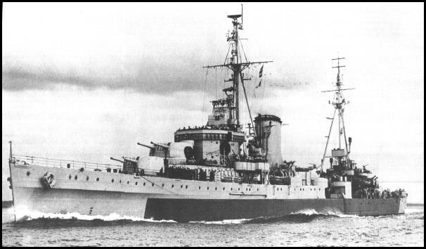 HMNZS Achilles (70)  Laid down: 11 June 1931  Launched: 1 September 1932  Commissioned: 10 October 1933  Out of service: Loaned to Royal New Zealand Navy 1 October 1936  Fate: Sold to Indian Navy 5 July 1948