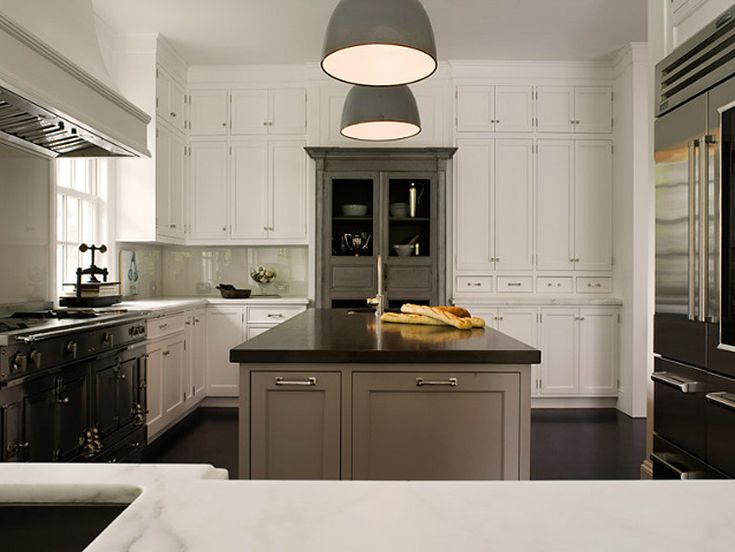 desire to inspire, SL:ID STUDIO #kitchenFactories Pendants, Dreams Kitchens, Cabinets Colors, Kitchens Islands, Gray Kitchens, Gray Cabinets, Kitchens Cabinets, Gray Islands, White Kitchens