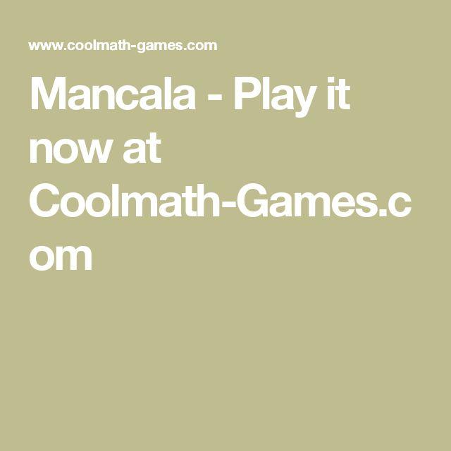 Mancala - Play it now at Coolmath-Games.com