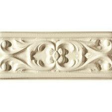 "Accent Tiles - Type: Listello/Border Tiles | Wayfair  Emser Tile Cape Cod 9"" x 4"" Seashore Accent Tile in Artisan Cream Crackle"