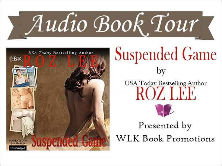 Audio Release: Suspended Game by Roz Lee Narrated by: Jay Harper Length: 8 hrs and 47 mins  Unabridged Audiobook Release Date:08-28-17 Publisher: State of Mind Whispersync for Voice-ready  Amazon / Audible - http://amzn.to/2wFmDjk iTunes - https://itunes.apple.com/…/suspended-game-unab…/id1276302583 | Rusty's Reading