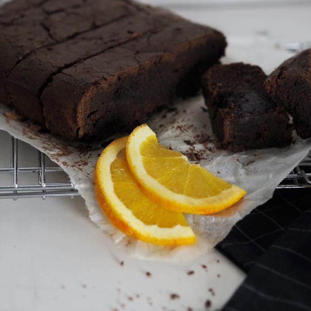 Pomarančový brownies